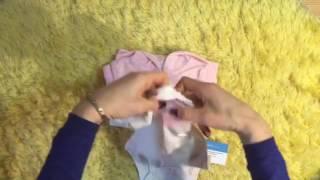 Обзор Carters костюм махровый розовый мишка