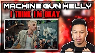 Machine Gun Kelly, YUNGBLUD, Travis Barker - I Think I'm OKAY Reaction Video