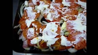 Рыба запеченная с картошкой под сыром в духовке | Рыба по-французски