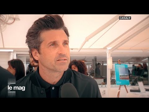Patrick Dempsey superstar du Festival CANNESERIES - CANAL+