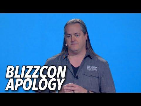Blizzard Apologizes At Blizzcon 2019