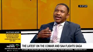SAA, Comair under the spotlight following grounding of planes