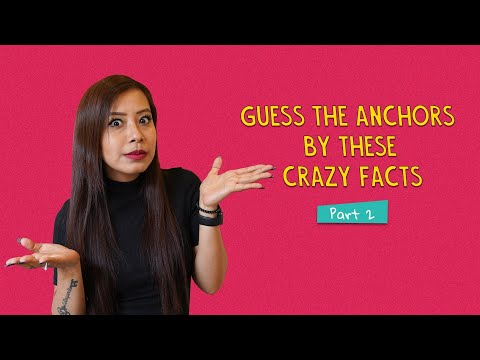 Guess The Anchors By These Crazy Facts | Part 2 | Ok Tested