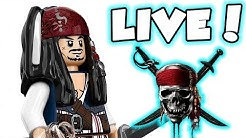 LEGO Pirates of the Caribbean 100% Completion Live stream!