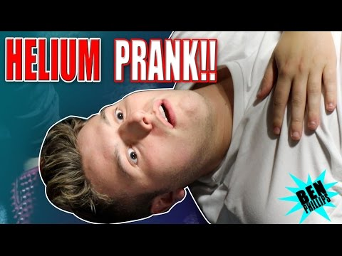 I OVERDOSED my bro on GAS! **PRANK!**