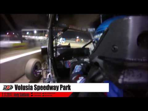 Joey Saldana | Volusia Speedway Park Feb 17, 2017 | ONBOARD