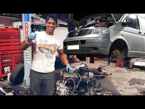 "VW T5 Transporter ""engine changed in just 5 hours ends BADLY!!!!""  