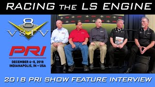Racing The LS Engine Discussion Panel at 2018 PRI Show Presented by COMP Cams