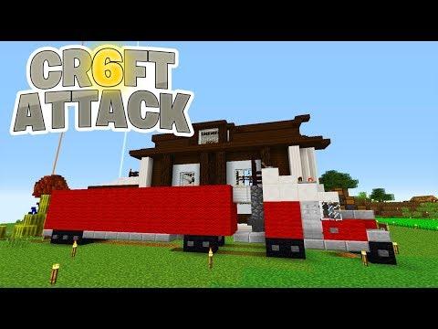 Prank an Earliboy! Firma Spark fährt mit LKW vor! - Minecraft Craft Attack 6 #139