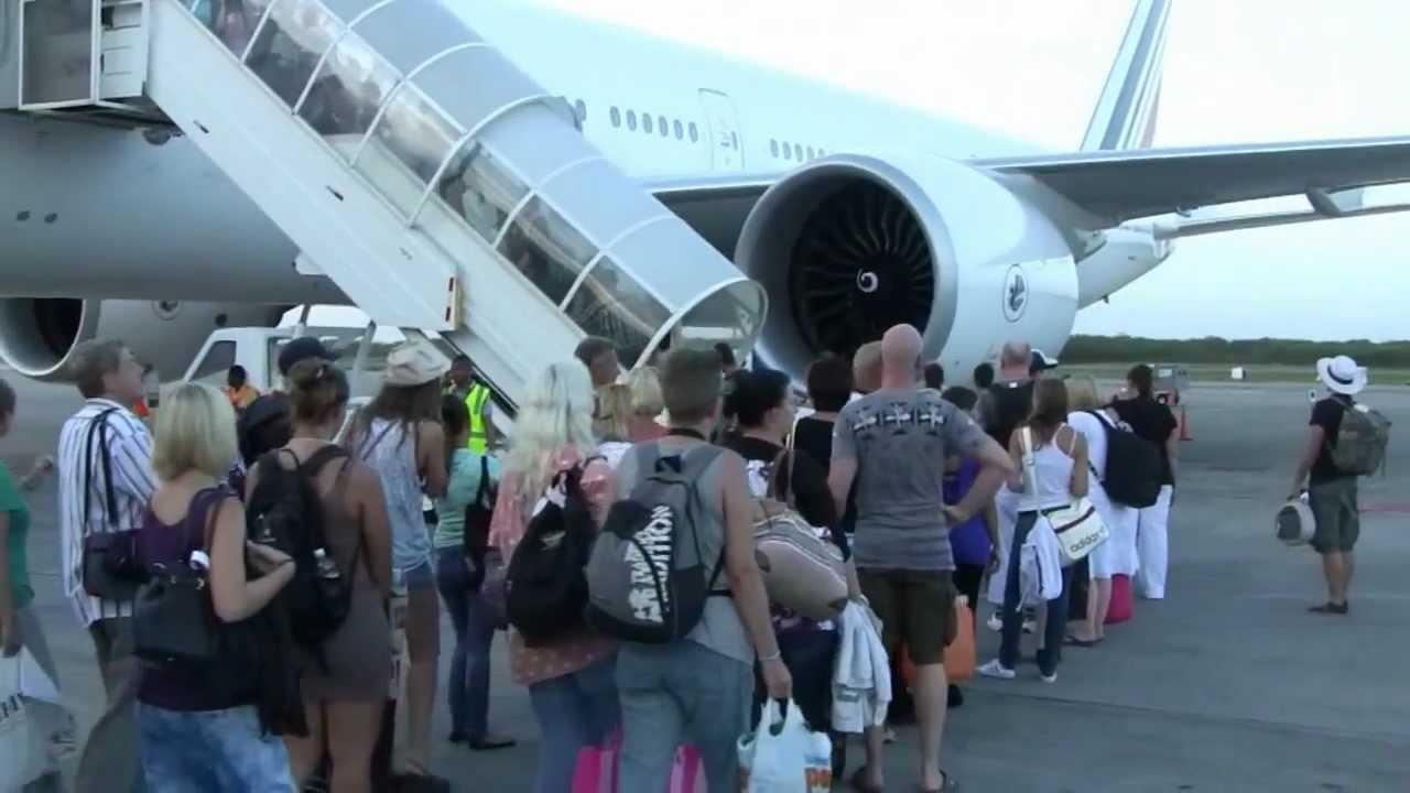 AIRFRANCE,aeropuerto de Punta Cana Rep  Dominicana
