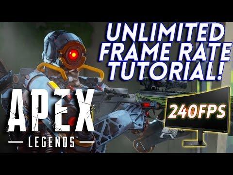 Apex Legends FPS FIX! UNLOCK FPS ON PC! FIX LAG AND STUTTERING!
