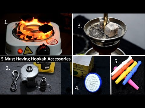 Top 5 Must Have Hookah Accessories | Full Info | Review | Setup | Unboxing