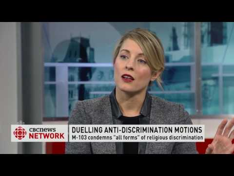 Trudeau Watch - M103 Motion on Islamophobia - Mélanie Joly