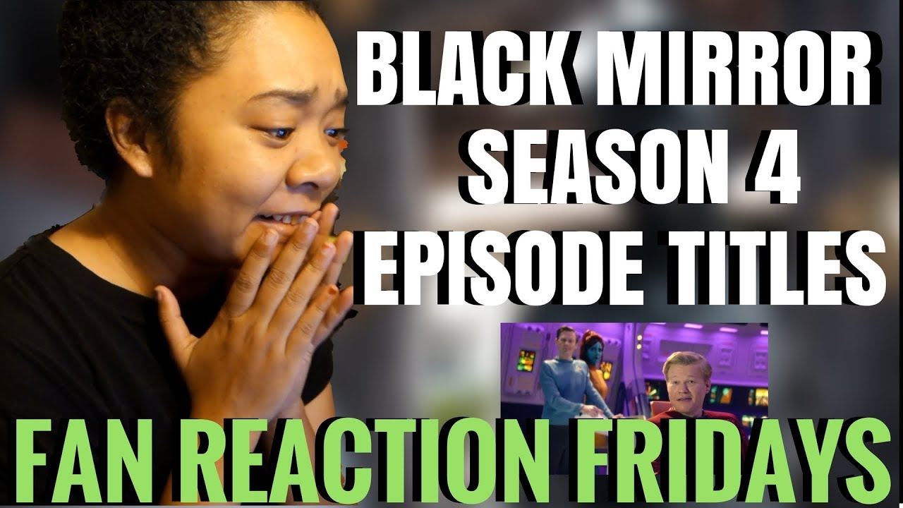 Black Mirror fans are ranking season 4's episodes  but what comes out on top?