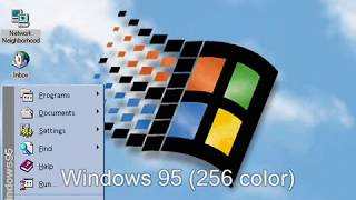 Windows 95 Original and Plus! Startup and Shutdown Sounds