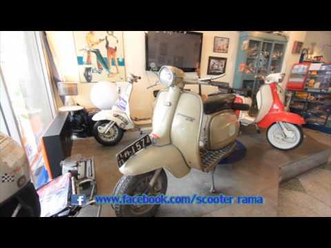 รายการ scooter rama ตอน Lambretta Thailand เบรก1
