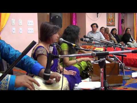 Sohar Bhojpuri Song | Ram janm - Kaushalya Dashrath samwad | Swasti Pandey के अमेरिका में गावल सोहर