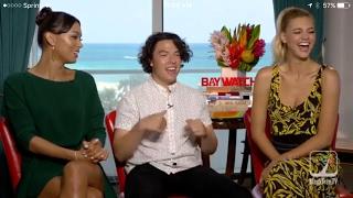Baywatch Ilfenesh Hadera, Kelly Rohrbach and Jon Bass Interview