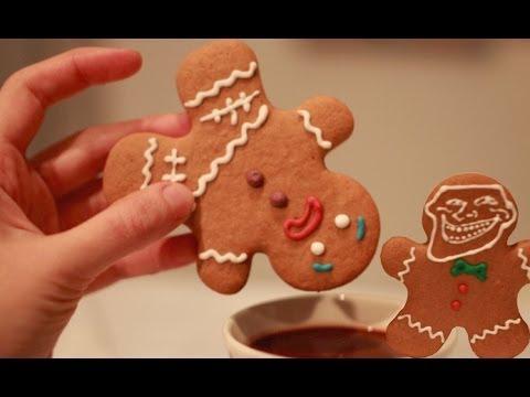 Galletas De Jengibre Gingerbread Man Galletas De Navidad Youtube
