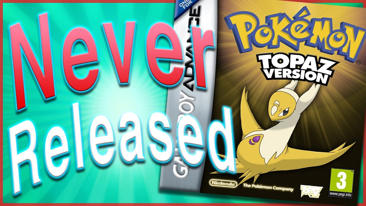 10 Pokmon Games That Were Never Released - Youtube-1746