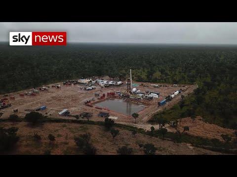Namibian villagers fight against oil giant