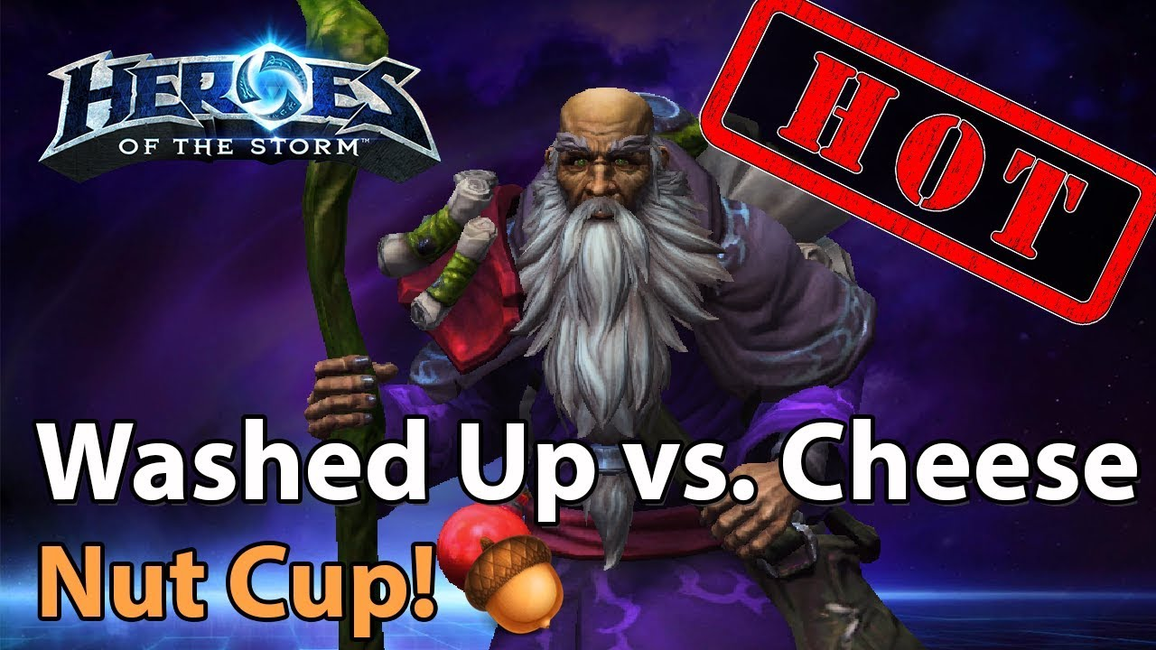 ► Heroes of the Storm: Washed Up vs. Team Cheese - Nut Cup
