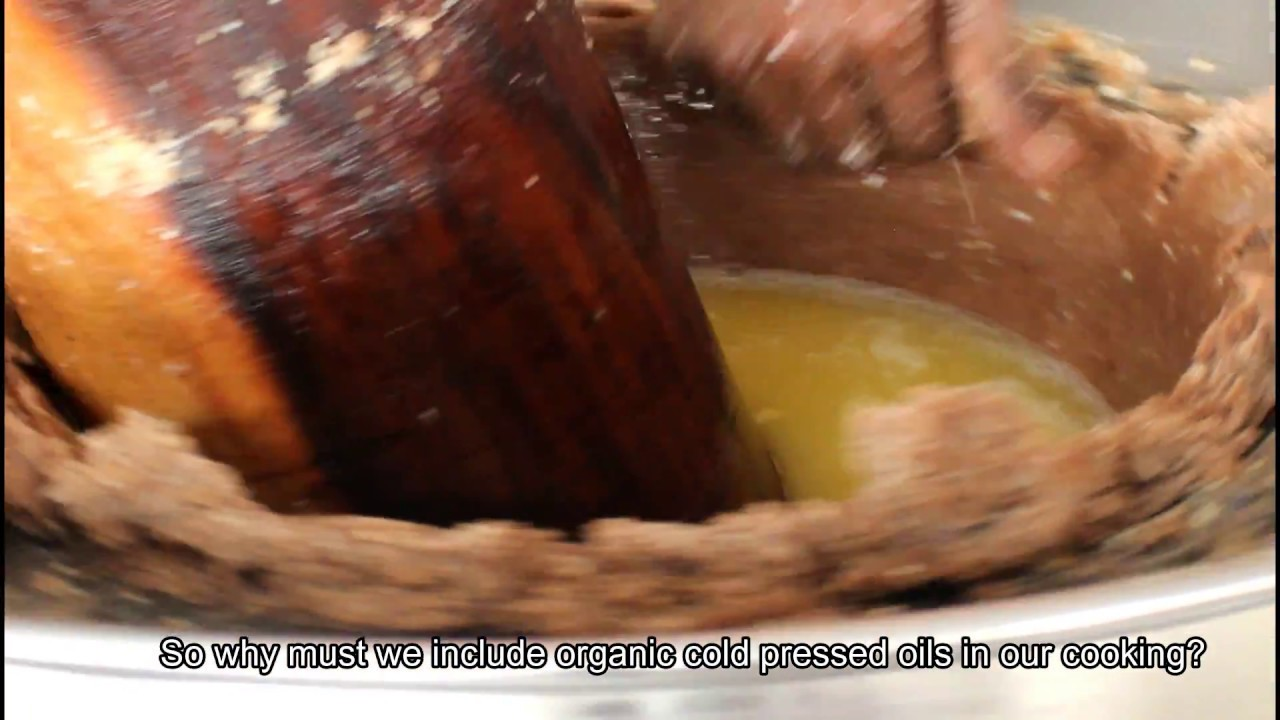 Preparing Cold Pressed Peanut Oil | Organic | Prevent cancer | Shocking facts