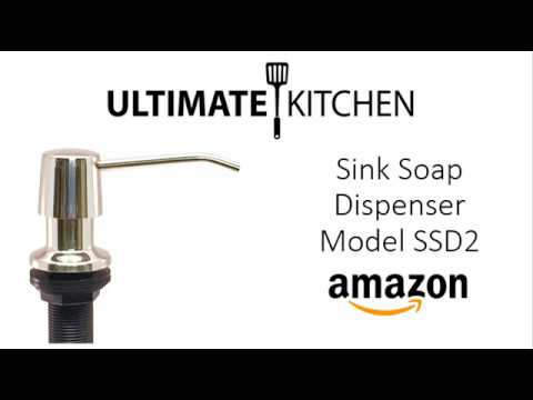 Ultimate Kitchen Sink Soap Dispenser SSD2 - Stainless Steel Polished on ultimate refrigerator, ultimate bedroom, ultimate closet, ultimate pantry, ultimate kitchen design, ultimate toilet, ultimate painting, ultimate living room, ultimate outdoor kitchens, ultimate bathroom, ultimate portable camp kitchen, ultimate kitchen island, ultimate computer, ultimate kitchen range, ultimate bathtub, ultimate cabinets, ultimate kitchen appliances, ultimate kitchen storage, ultimate basement, ultimate food,