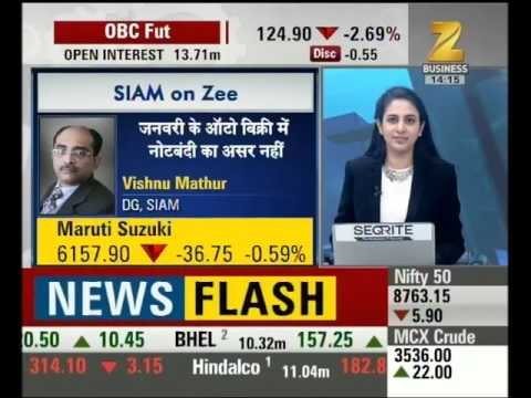 Exclusive talk with 'Vishnu Mathur' DG, SIAM over sales number
