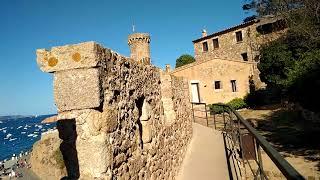Тосса де мар.крепость