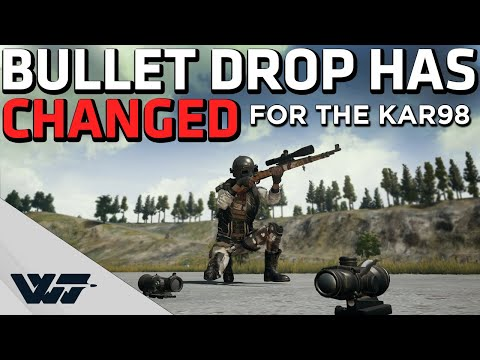 Download HOW TO AIM WITH KAR98K - Bullet drop has CHANGED! - PUBG