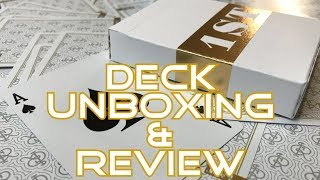 Chris Ramsay's 1ST Playing Cards - Unboxing & Review