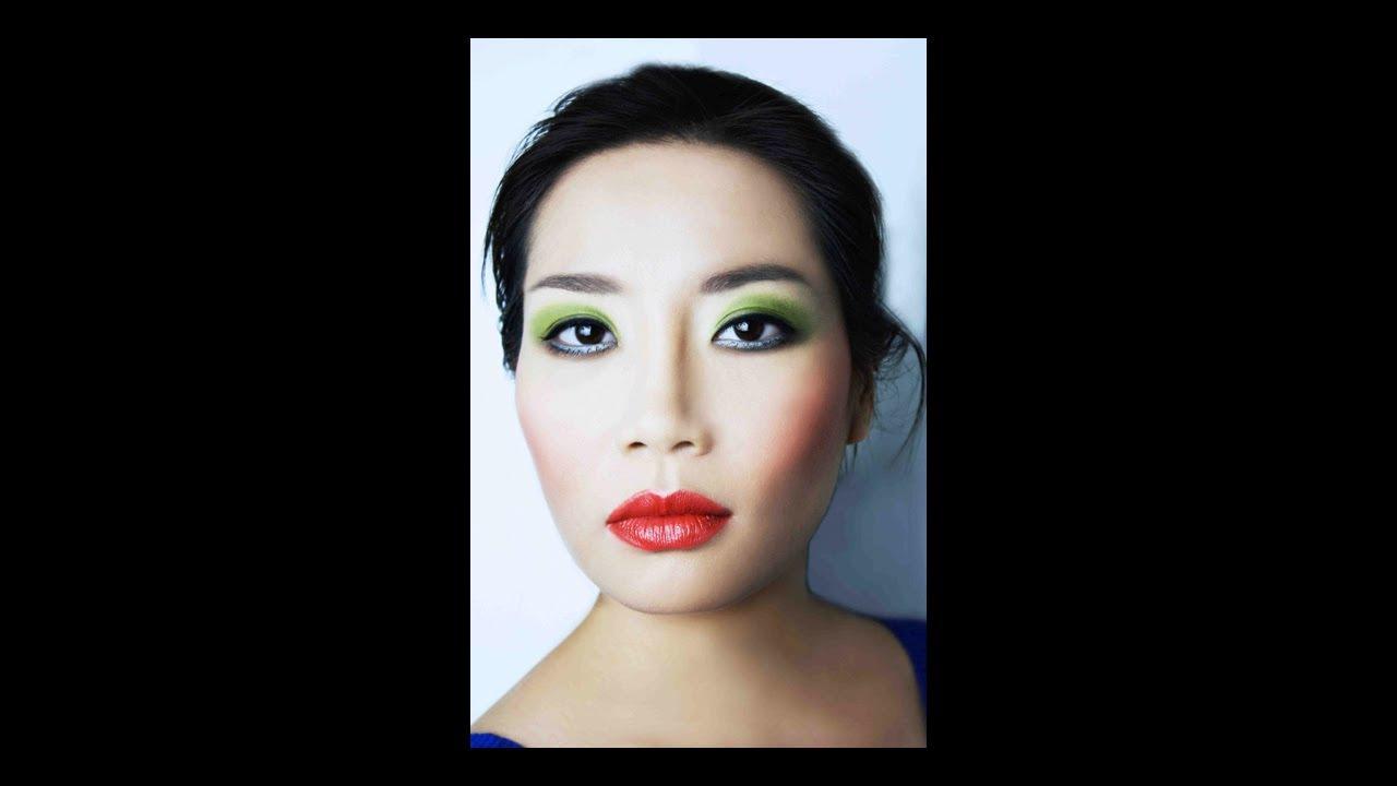 St patricks day green eyeshadow asian makeup tutorial by st patricks day green eyeshadow asian makeup tutorial by margaret kimura makeup school baditri Images