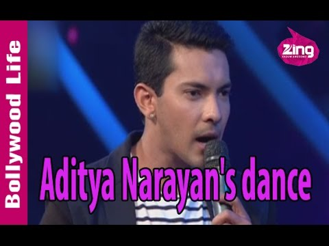 Aditya Narayan dances to 'Chikni Chameli'