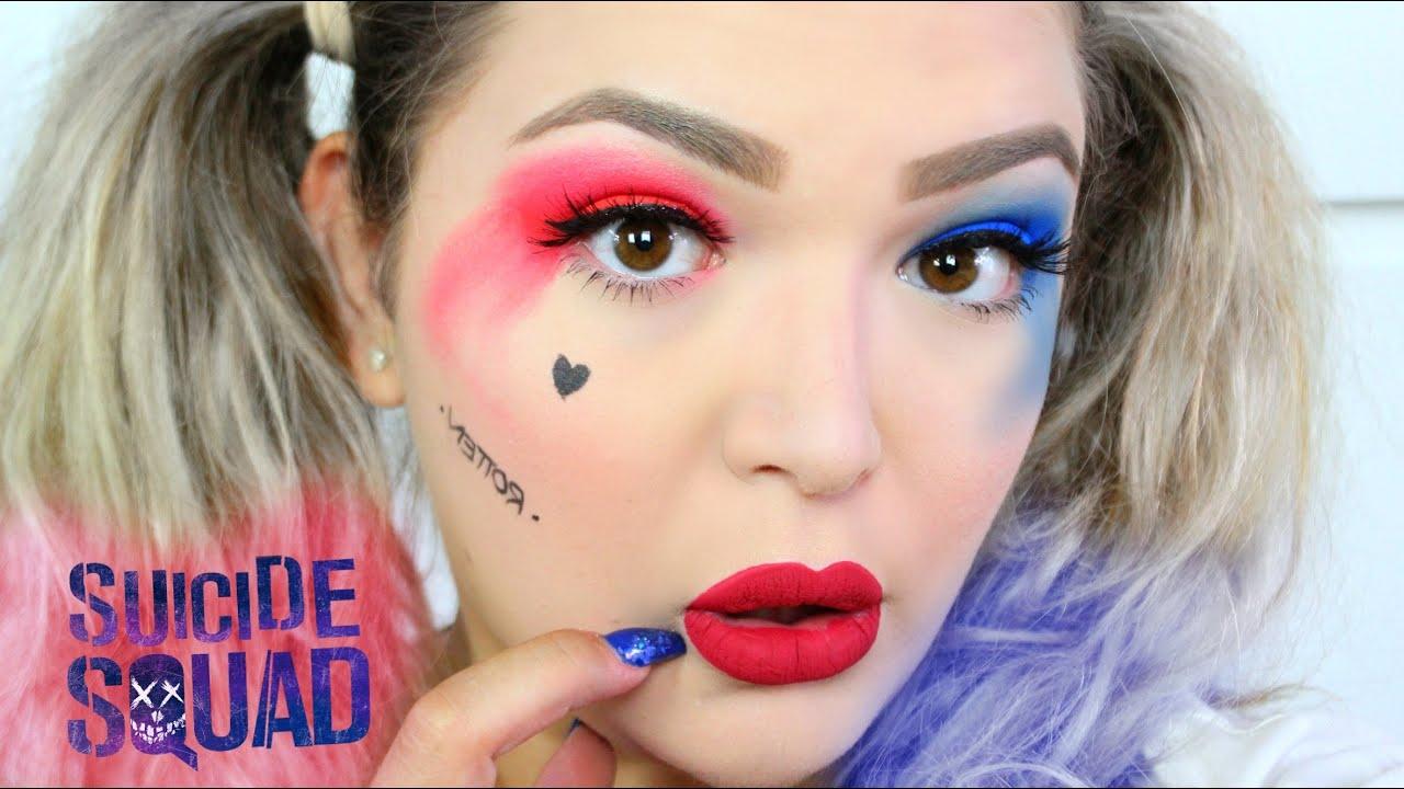 harley quinn makeup - 1280×720