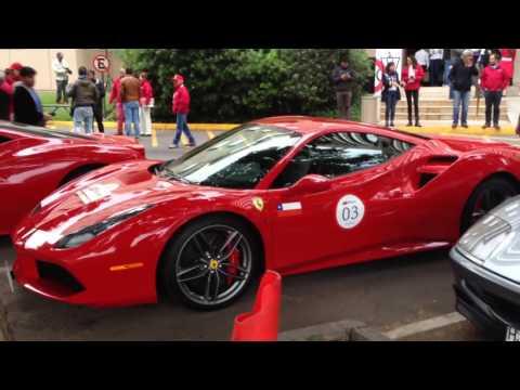 Primer Incontro Ferrari Sudamérica - Los chilenos