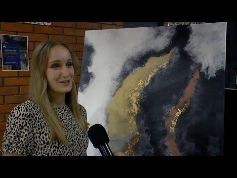 Debiutancka wystawa malarstwa Małgorzaty Grudzińskiej w Drelowie