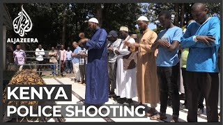 Kenya to probe fatal police shooting of teenager