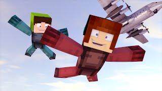 Minecraft: Salto de Paraquedas do Avião !! - Aventuras Com Mods #08