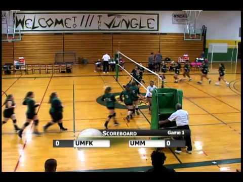 UMFK Women's Volleyball vs. University of Maine at Machias - October 10, 2015