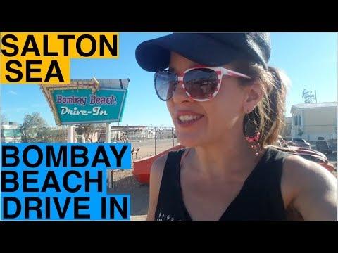 Salton Sea Abandoned Bombay Beach Drive-In