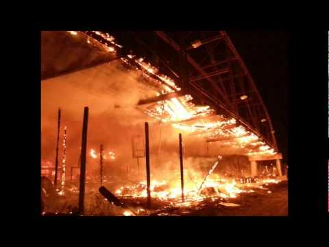 What caused the full throttle saloon fire videos onmedia