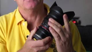 Review of Samyang 24mm T1.5 Cine Lens