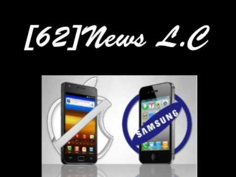 [62]뉴스듣기 Apple and Samsung patent war