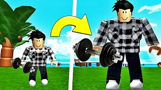 I'M GETTING HUGE AND DRY! Roblox