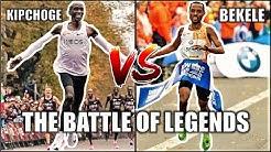 ELIUD KIPCHOGE VS KENENISA BEKELE || THE 2020 LONDON MARATHON || THE BATTLE OF LEGENDS