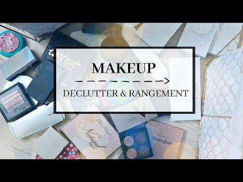 Declutter Makeup & Rangement et Organisation : mes indispensables! | Grand Ménage thumbnail
