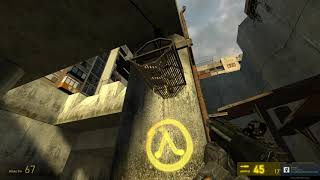 Half Life 2 ( Walkthrough): Helicopter chase ( #6 )
