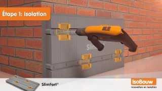 IsoBouw SlimFort; isolant de façade ventilée avec bardage