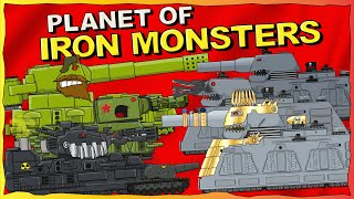 """Planet of Iron Monsters - All series plus Bonus"" -  Cartoons about tanks"